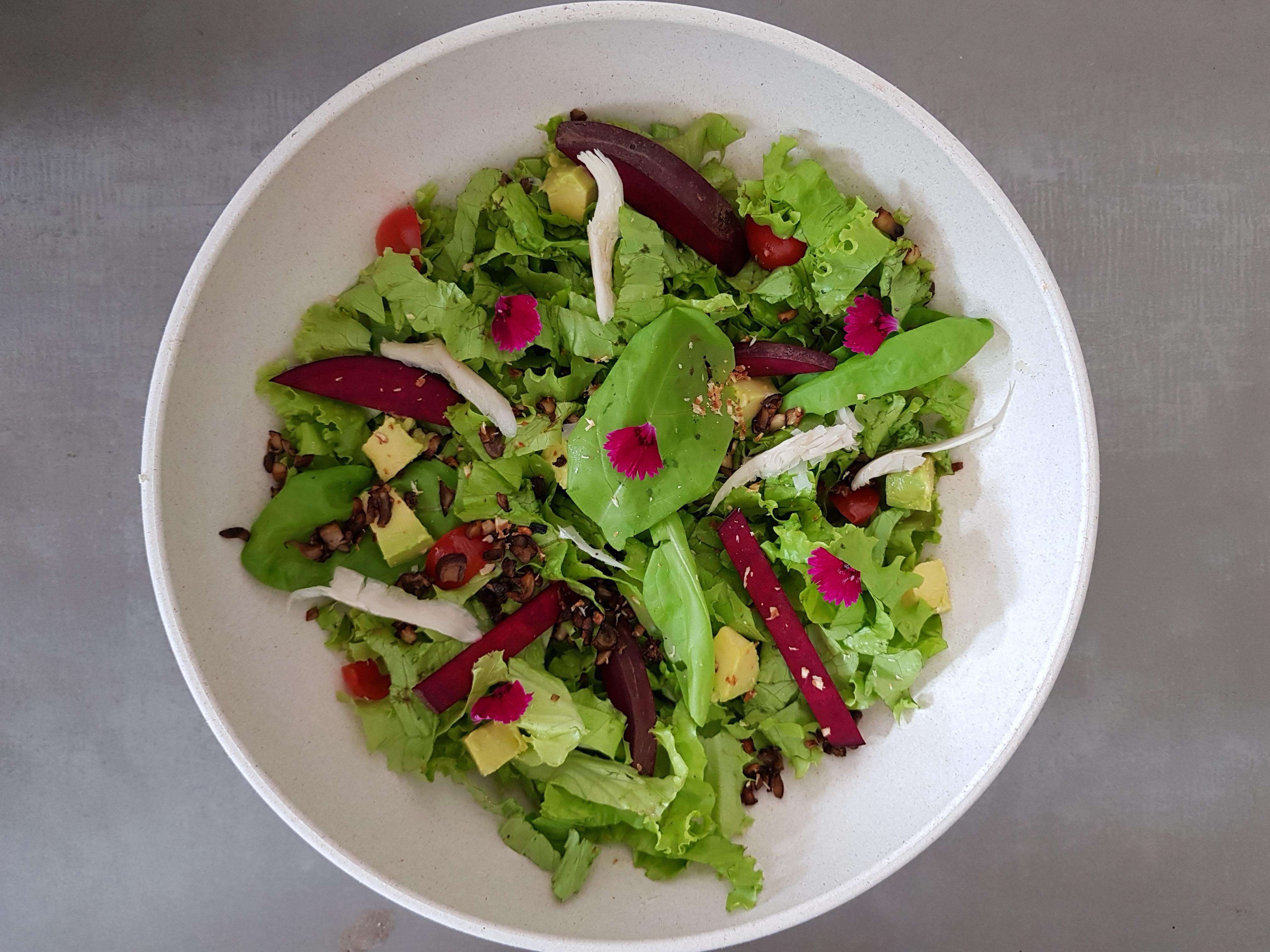 Salada coob veggie